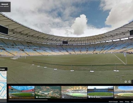 Google provides virtual tours of FIFA World Cup 2014 stadiums in Brazil
