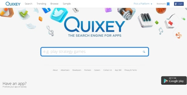 Quixey search engine to find best app for you