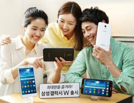 Samsung Galaxy W 7-inch phablet launched in Korea for $489