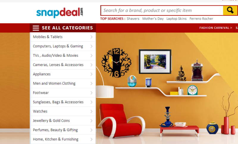 e51b1e2a7 Snapdeal launches personalized shopping guide  Smartfeed