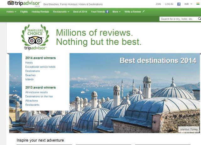 TripAdvisor launches mobile travel guides for World Cup