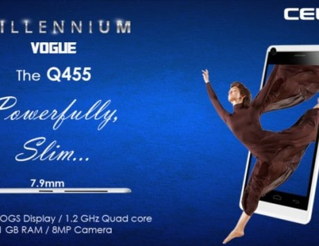 Celkon launches Millennium Vogue Q455 at Rs 7,999