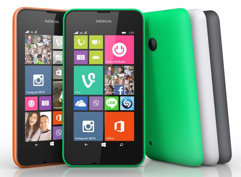 Nokia Lumia 530 launched in India, priced at Rs 7,199