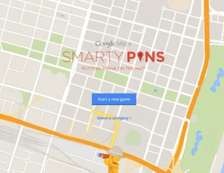 Google Maps gets a trivia game with Smarty Pins