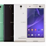 """Sony Xperia C3 Dual """"selfie smartphone"""" with 5-megapixel camera and…"""