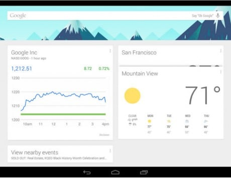 Google Now launcher now available for all devices running Android 4.1 and above