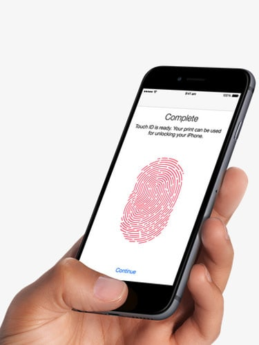 Apple iPhone 6 Finger Print