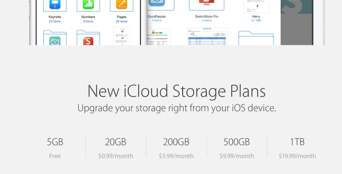 Apple Icloud Pricing Confirmed Here S How It Compares To