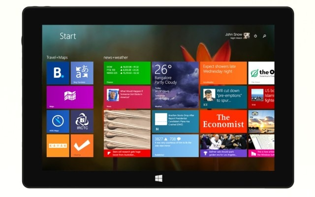 Notion Ink launches Intel-powered CAIN 10.1-inch Windows 8.1 tablet for Rs 19,990, exclusively available through Snapdeal