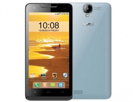 Intex Aqua Amaze featuring octa-core processor, 13-megapixel camera, and Android KitKat launched, priced at Rs 10,690