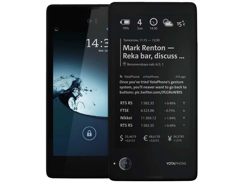 YotaPhone with dual-displays might soon launch in India via Flipkart