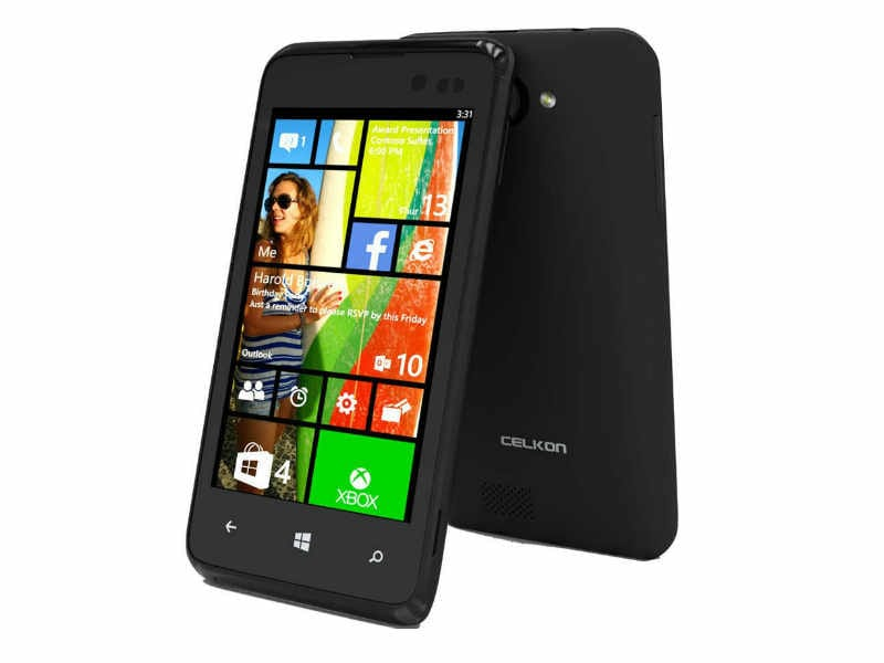 Celkon Win 400 Windows Phone 8.1 smartphone launched, priced at Rs 4,999: Specifications and features