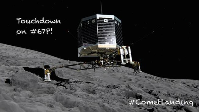 SCIENCE! and stuff Rosetta-comet-landing