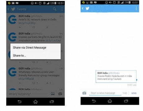 Twitter rolls out another update to revive its DM feature, lets you share tweets privately