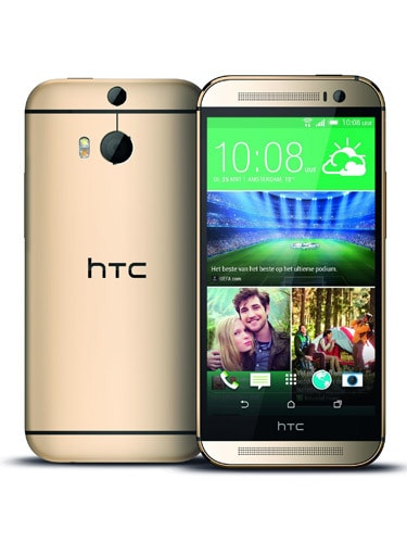 HTC One (M8) Front and Back