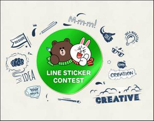 Messaging app line has today announced a sticker design competition for its users in india the competition kicks off today and will be on till february 21