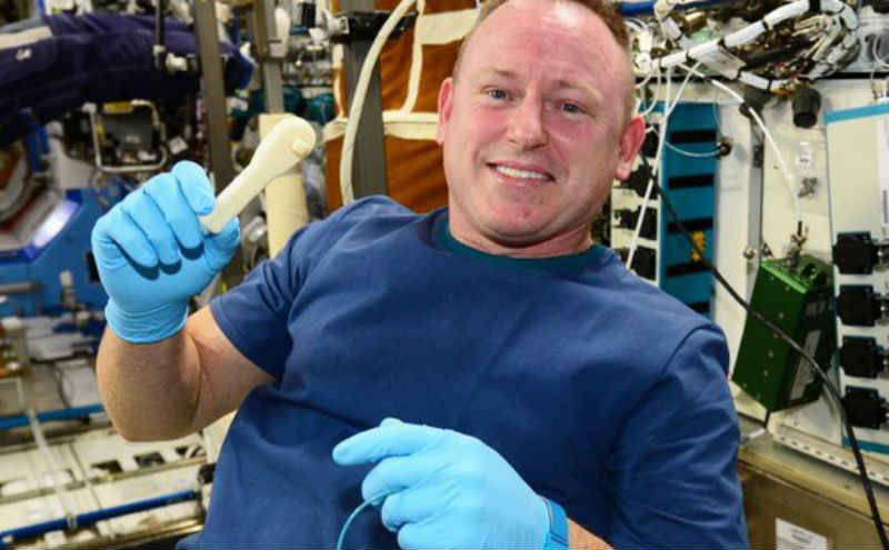 NASA emails spanner to space station, astronaut builds it using a 3D printer