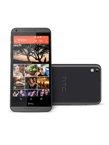 HTC Desire 816 Front and Back