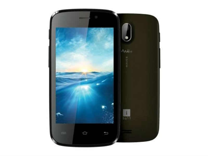 iBall Andi 4F Waves Android KitKat smartphone launched for Rs 4,199: Specifications and features