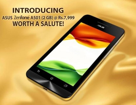 Asus Zenfone 5 A501 launched for Rs 7,999, featuring HD display, 2GB RAM, Intel Atom processor: Specifications and features