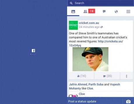 Facebook Lite launched for low-end Android smartphones and 2G networks