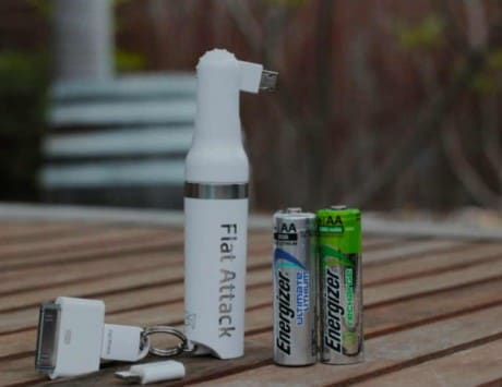 Forget power banks, Flat Attack 'AA battery powered' portable charger will ensure your smartphone never runs out of juice