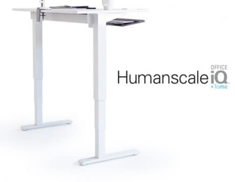 Tome unveils an office desk that will tell when to sit or stand to help in losing weight