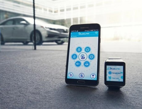 Hyundai's Blue Link app will let you start your car remotely, to be unveiled at CES