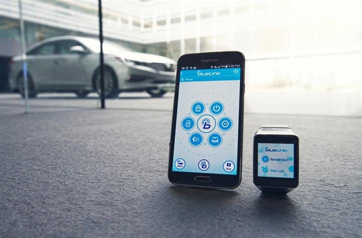 Blue Link Phone Number >> Hyundai S Blue Link App Will Let You Start Your Car Remotely To Be