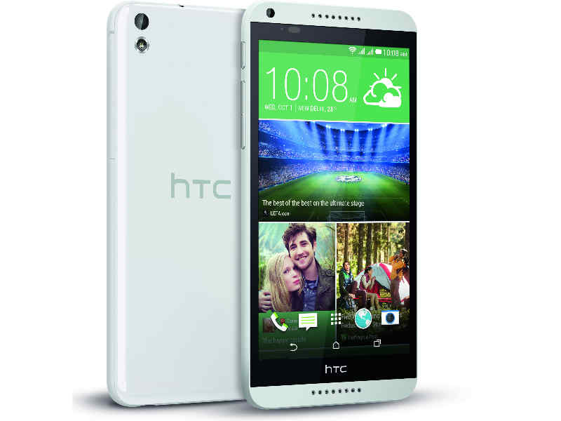HTC Desire 816G re-launched in India with octa-core processor and 16GB internal memory, priced at Rs 19,990: Specifications and features