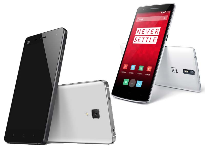 Xiaomi Mi 4 vs OnePlus One: Specifications, features compared