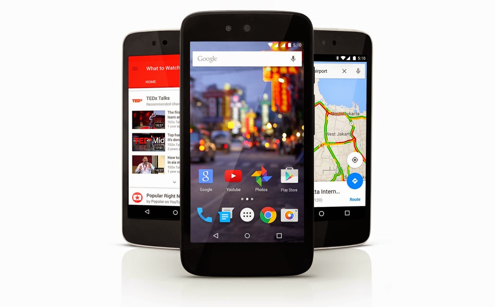 Android 5.1 Lollipop coming soon, spotted on Android One ...