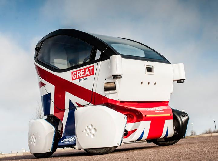 First road-legal driverless car unveiled in UK