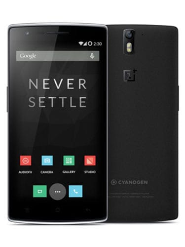 OnePlus One (64 GB) Front and Back