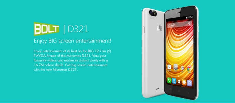 Micromax Bolt D321 Price in India, Micromax Bolt D321