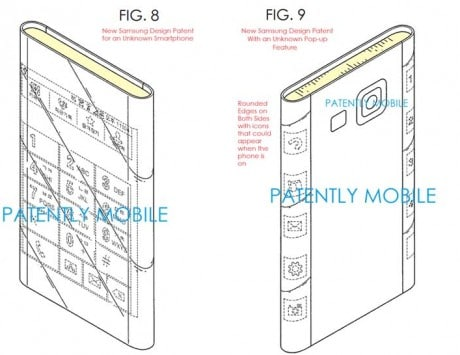 Samsung Galaxy S Edge dual-edged curved display design leaked in new patent