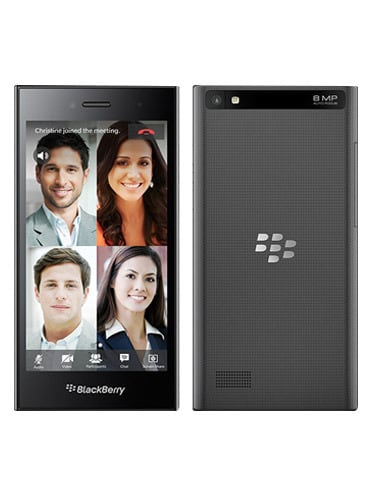 BlackBerry Leap Front and Back