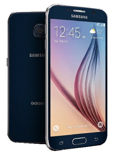 Samsung Galaxy S6 (128 GB) Front and Back