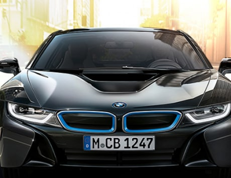 BMW unveils new water-powered turbo car