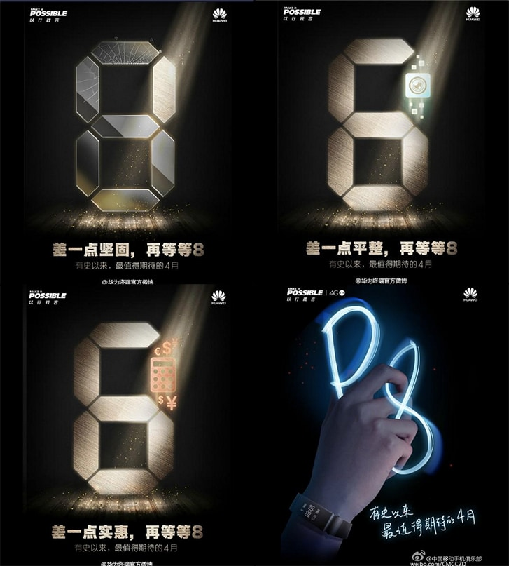 Huawei has yet again teased its next flagship Ascend P8 close on heels of the official launch in London on 15 of next month.