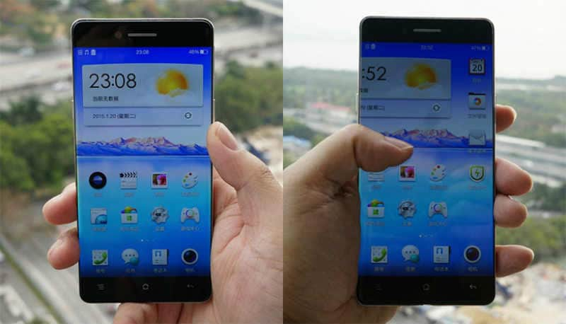 Oppo R7 leaked, could be the world's first 'bezel-less' smartphone