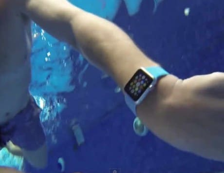 Apple Watch keeps ticking for 15 minutes during water resistance test