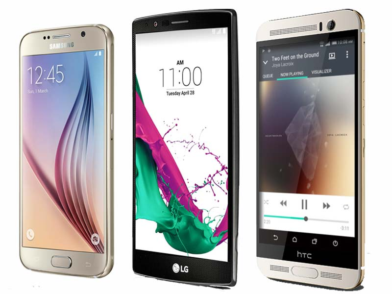 LG G4 vs Samsung Galaxy S6 vs HTC One M9+: Specifications, features compared