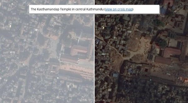 Google S Before And After Maps Reveal The Extent Of