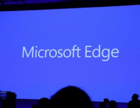 Microsoft Edge is the name of Project Spartan, the Internet Explorer replacement for Windows 10