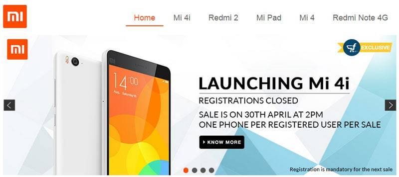 Xiaomi Mi 4i flash sale on Flipkart kicks off at 2:00PM