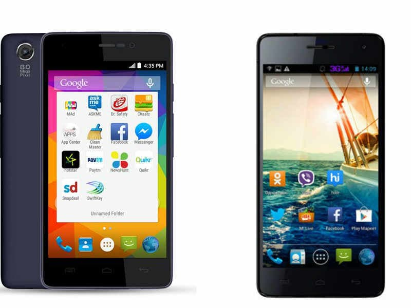 Micromax Canvas Spark vs Micromax Unite 3: Specifications and features compared