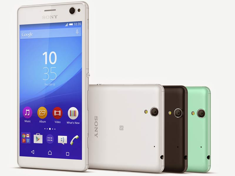 Sony Xperia C4 selfie smartphone with 5-megapixel front camera and LED flash announced: Specifications, features