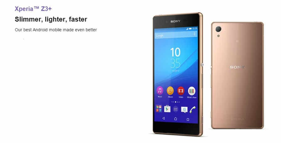 tried sony xperia z4 price in india are participant