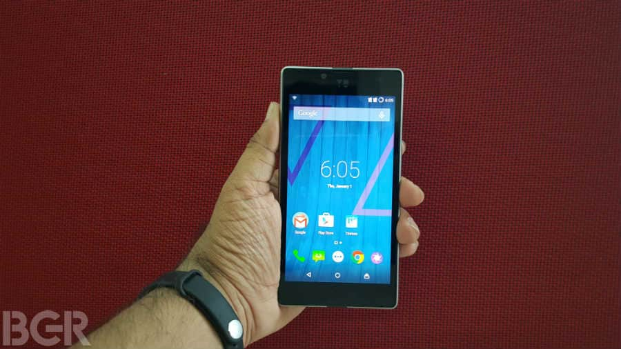 Cyanogen OS 12.1 update for the YU Yuphoria starts rolling out